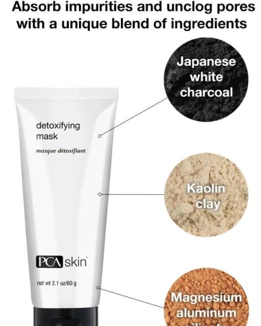 Detoxifying mask | PCa skin