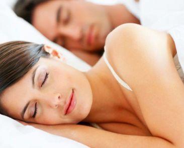 Slapen in goed voor je huid