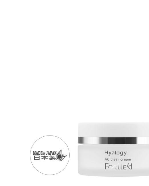 Forlle'd Hyalogy AC Clear Cream | Huidinstituut Beauté