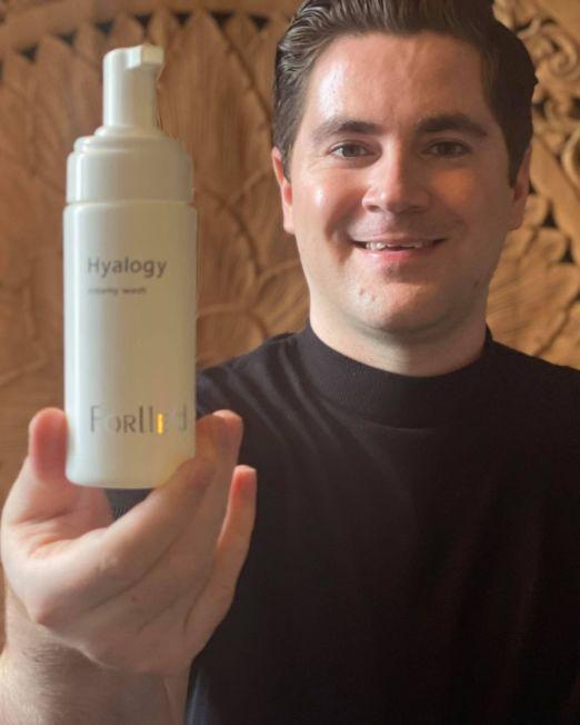 Forlle'd Hyalogy Creamy Wash | Verjongjehuid.nl